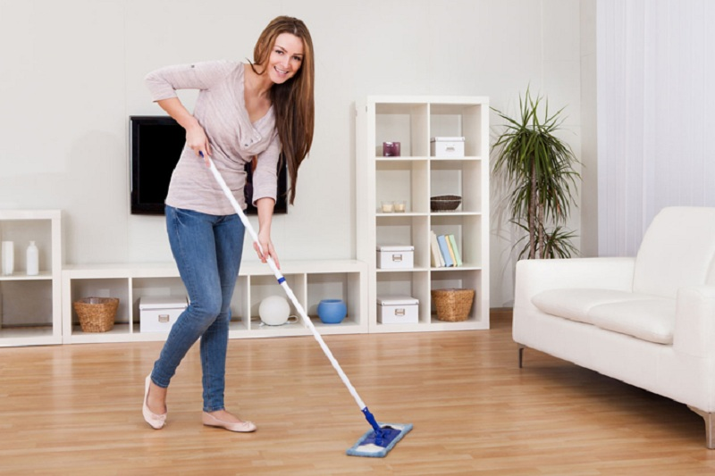 How to clean LVT floors