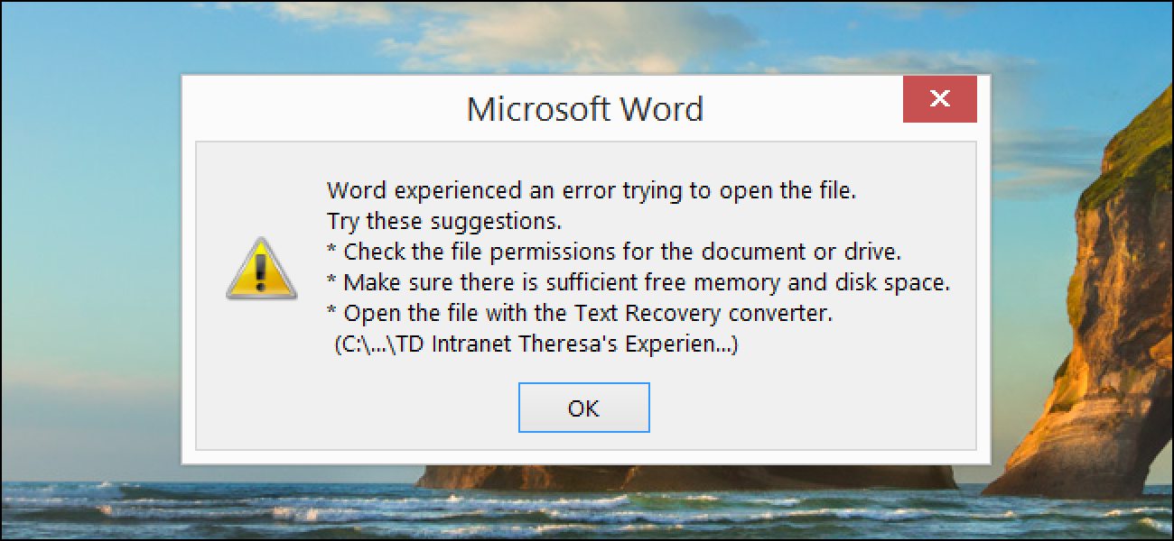 How do I know if My Microsoft access is corrupt?